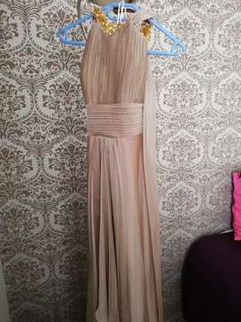 Imported evening gown