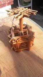 бра-светильник деревянный