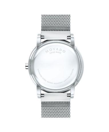 Часы Movado Mesh Museum Black Dial Stainless Steel модель 0607219 Харьков - изображение 4