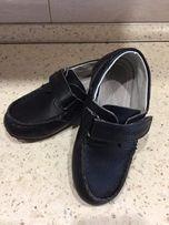 Кожаные туфли, ботиночки спортивного стиля 25 р-р