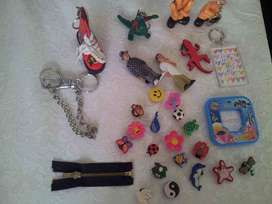 Assorted Keyrings/Bangles/Loom Bands/Pens AND MORE for sale