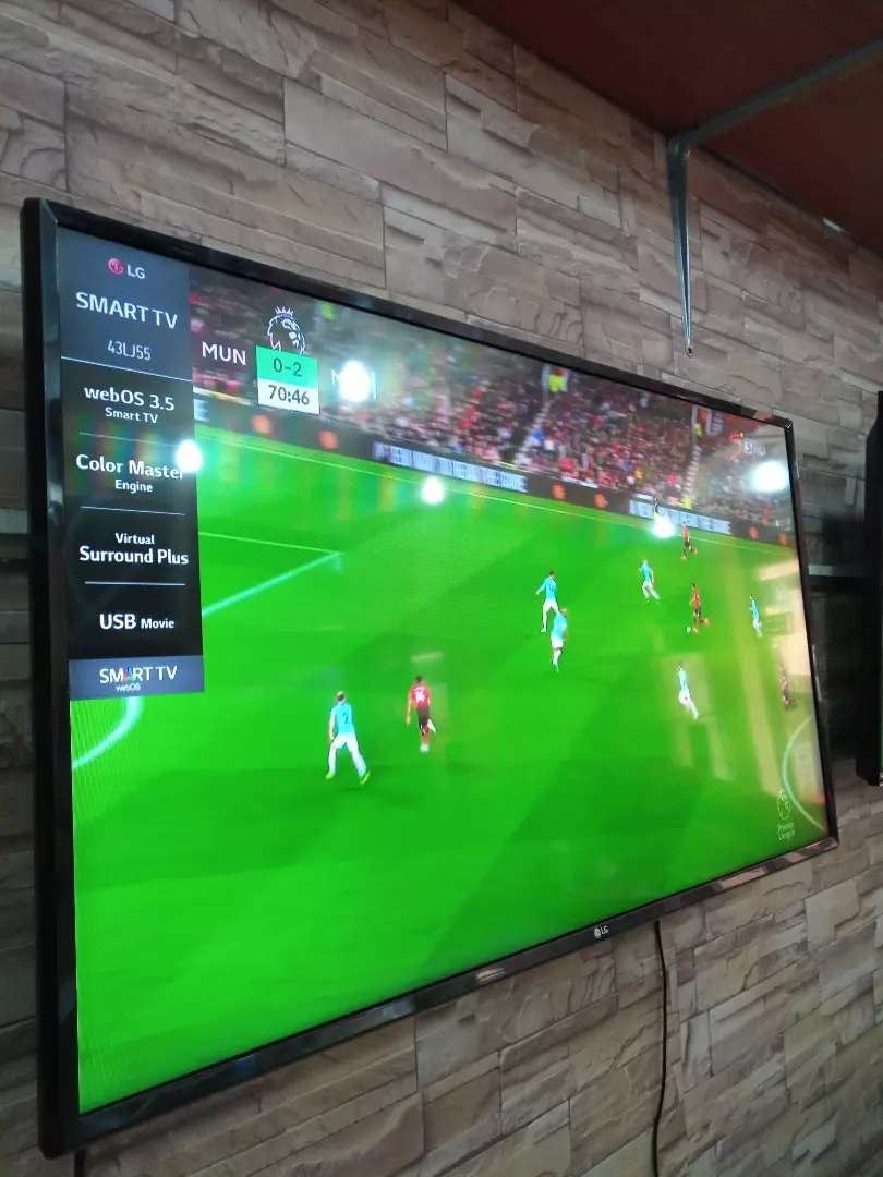 Brand new LG 43inches smart UHD 0