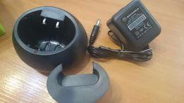 Зарядное, зарядка для рации, радиостанции Motorola(БП+стакан)