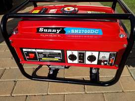 2.2kw,2700DC Sunny Generator for only R3600,Free Delivery. Brand new