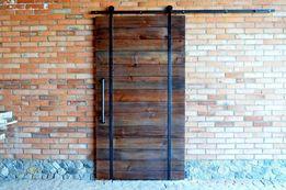 Амбарный механизм,фурнитура раздвижных дверей,в стиле Loft. Industrial