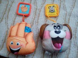 Смайлики игрушка брелок макдональдс хеппи мил emoji movie