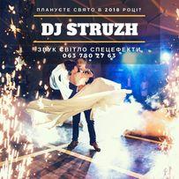 Dj Struzh - діджей на Весілля, Корпоратив.