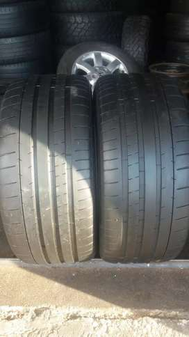 Two tyres sizes 265/35/20 Michael now available