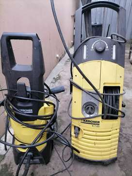 Pressure cleaning service.