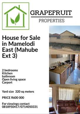 House for Sale in Mamelodi East (Mahube Ext 3)