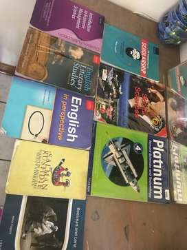 1st year Bachelor of Education IP textbooks