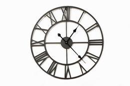 Zegar metalowy 80 cm Stylowy Wysoka Jakość Wykonania