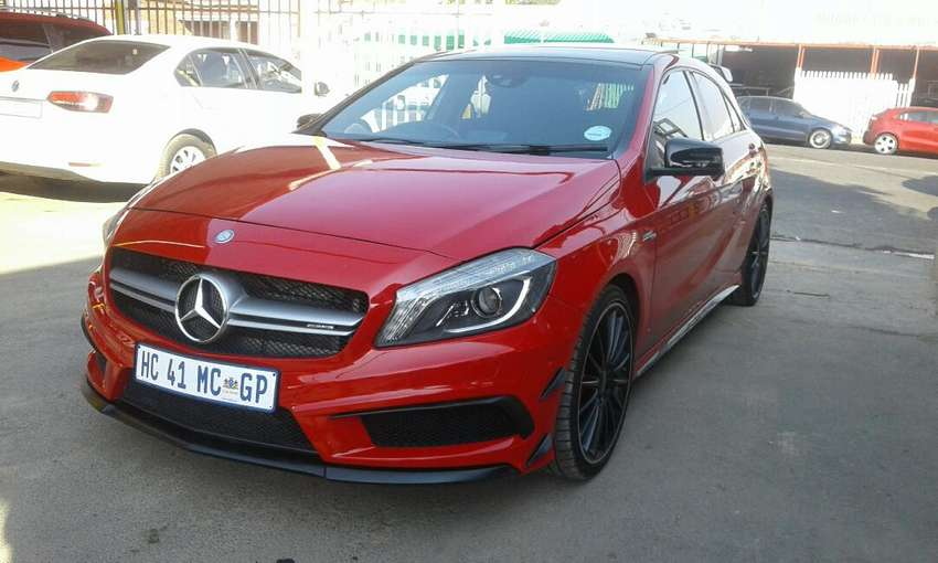 Mercedes benz A45 AMG 2.0 turbo Formatic for sale 0