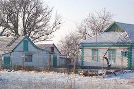 Меняю или продам дом у пруда. с.Мирное, Криничанского р-на.