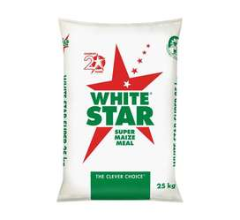 Discount Price for White Star Super Maize Meal 1 X 25kg