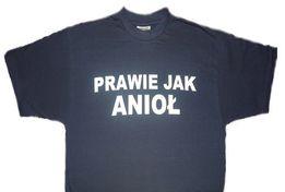NOWE Koszulki T-shirt nadruk napis rozmiary 128-152 kolory