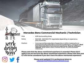 Mercedes Benz Commercial Mechanic / Technician