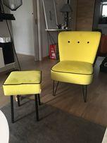 Sprzedam komplet fotela i podnóżka/ stan idealny