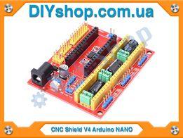 Плата ЧПУ Arduino NANO CNC Shield V4