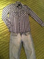 Стильная рубашка House и джинсы Castro комплект