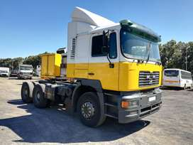 2003 Man 27-464 6x4 double axle truck tractor
