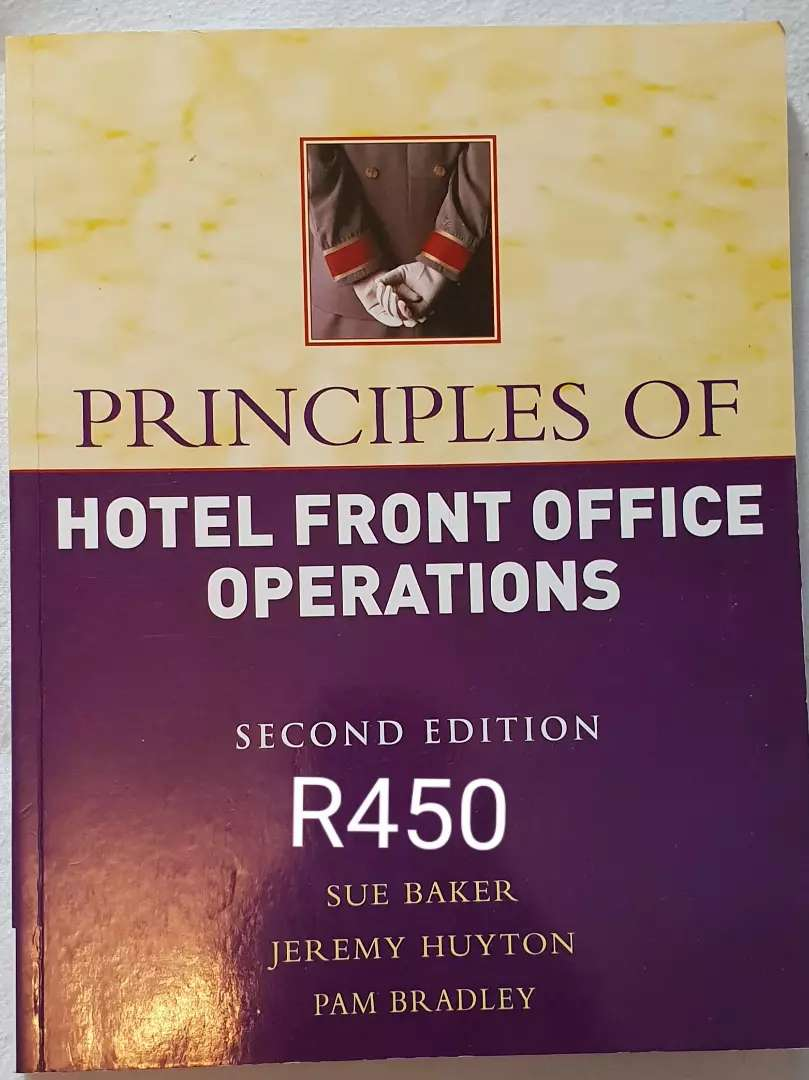 Principles of Hotel Front Office Operations 0