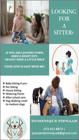Baby Sitter / House or Pet Sitter