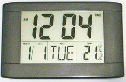 Большой размер настенные настольные часы крупный дисплей большие цифры