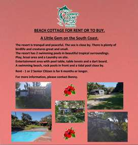 Beach Cottage for Rent or to Buy