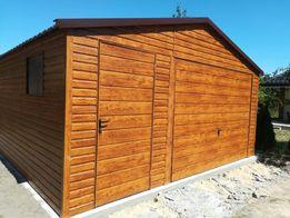 Garaż blaszany 4x6 drewnopodobny 3x3 3x5 4x5 6x6 4x6 5x5 Blaszak Garaż