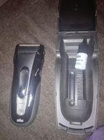 У бритвы прорезиненный водонепроницаемый корпус, что повышает удобство