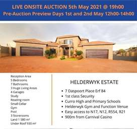 HELDERWYK ESTATE LIVE ONSITE AUCTION