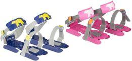 Łyżwy dwupłozowe saneczkowe dla dzieci - różne kolory
