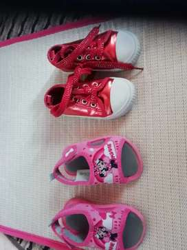 Kiddies shoes ( price for both pairs)