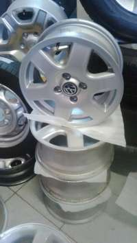 Image of Special vw polo original 15'' mags 5x100