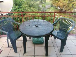 Stolik krzesła ogrodowe