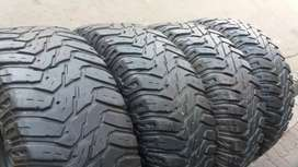 A set of tyres sizes 285/70/17 cooper Discoverer now available