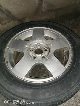 15 inch vw rims with tyres