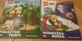 M.Andrysiak - 2 książki Lego City