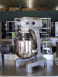 Image of 20 Qt Hobart Mixer Dough Mixer A-200T with Timer Refurbished