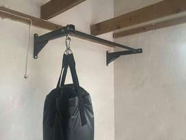pull-up bar (with boxing bag hanger)