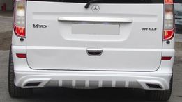 AMG накладка на задний бампер Мерседес Вито 639