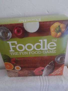 Foodle Board game sealed never been opened unwanted gift