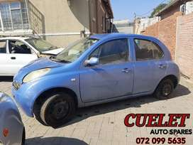 1.4L Nissan Micra March Used Parts For Sale