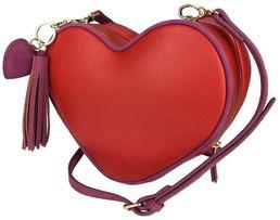 Torebka serce nowa czerwona piękna listonoszka