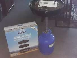 Cadac Grillogas reversable grill + bottle
