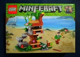 Конструктор Майнкрафт 66024 Пляж (Minecraft, Lego, Лего)