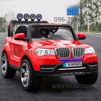 """Детский электромобиль """"BMW-Джип"""" 4WD+2-х местный дитячий електромобіль"""