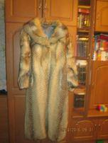 шуба натуральная волчья, 1000 рублей