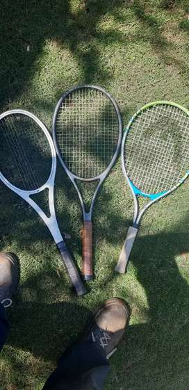 Tennis racquets for sale- 3 for R500 negotiable.